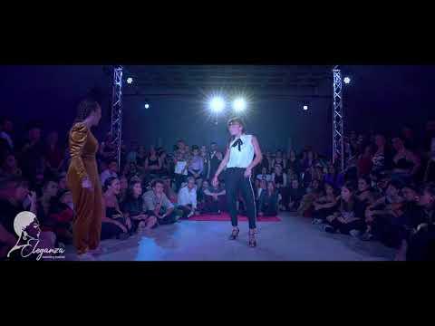 AMALIA DISCOPATIK vs DIDDAH | TOP4 1v1 Waacking | Under18 | Eleganza Waacking Festival 2019