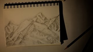 A Sketch of the Alps