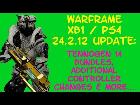 Warframe - XB1 / PS4 TENNOGEN 14 Bundles Are Here + CONTROLLER CHANGES & More! Update 24.2.12! thumbnail