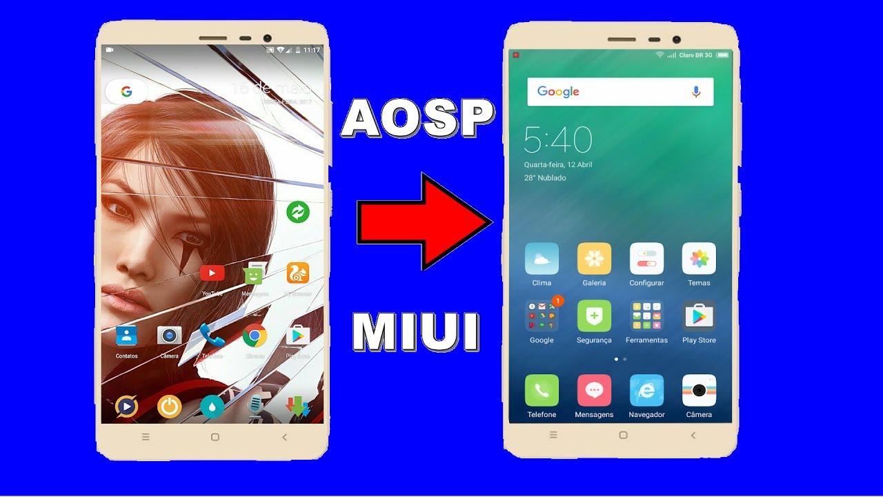 TUTORIAL: HOW TO BACK TO THE CUSTOM ROM MIUI 8 & ASOP - Xiaomi redmi NOTE 4  MTK - PORTUGUESE-BR
