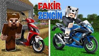 ZENGİN MOTOR VS FAKİR MOTOR! 😱 - Minecraft