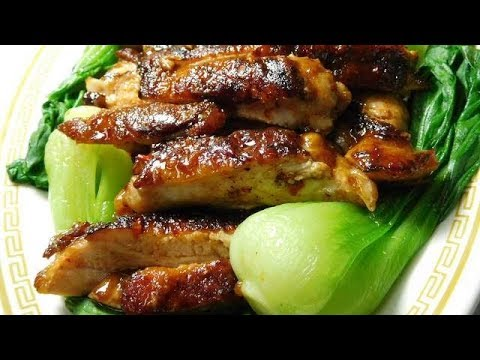 Guangzhou Style Pan Fried Chicken Thigh With Chili Sauce