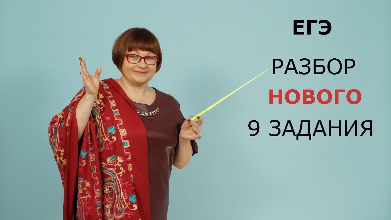 ЕГЭ Русский язык 2021 // Разбор нового 9 задания
