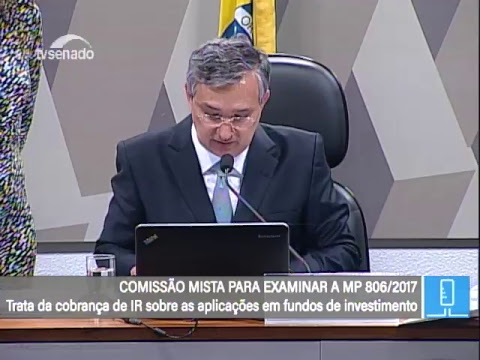 MP 806 - Relatório - TV Senado ao vivo - 06/03/2018