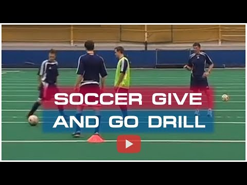 Winning Soccer Attacking Tactics - The Give and Go Drill - Coach Joe Luxbacher