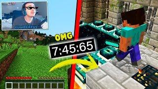 Este jugador TERMINA MINECRAFT en SOLO 7 MINUTOS! 😱🤑 IMPOSIBLE