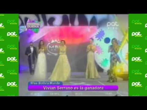 Miss Bolivia Mundo  #EnHoraBuena
