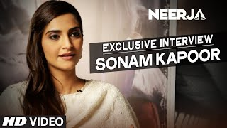 NEERJA EXclusive : Sonam Kapoor Interview | T-Series