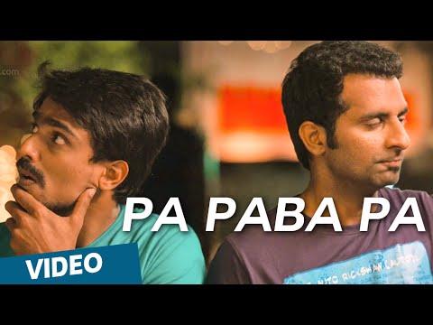 : Pa Paba Pa Full Video   Moone Moonu Varthai  Arjun Chidambaram  Aditi Chengappa
