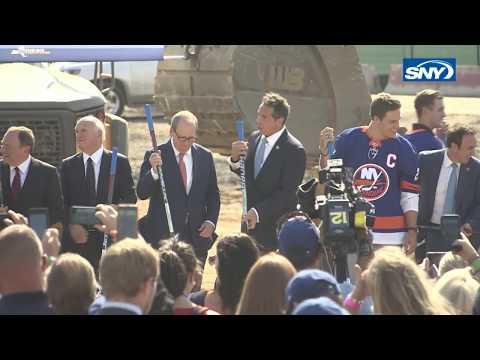 WATCH: New York Islanders Break Ground On New Belmont Park Arena