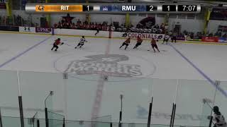 RIT Men's Hockey Highlights at Robert Morris, 2-10-18