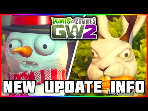 MORE UPDATE INFO! Plants vs Zombies Garden Warfare 2