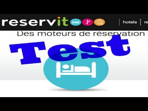 """Test réservation en direct d'hôtel avec """"Reservit"""" et l'hôtel le Cardinal"""