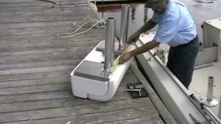 Todd Marine Leaning Post - replaces old boat seats