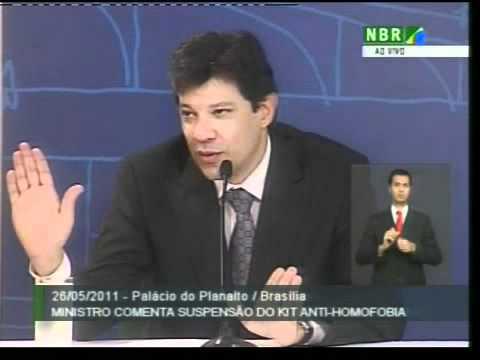 Ministro Fernando Haddad concede entrevista no Palácio do Planalto