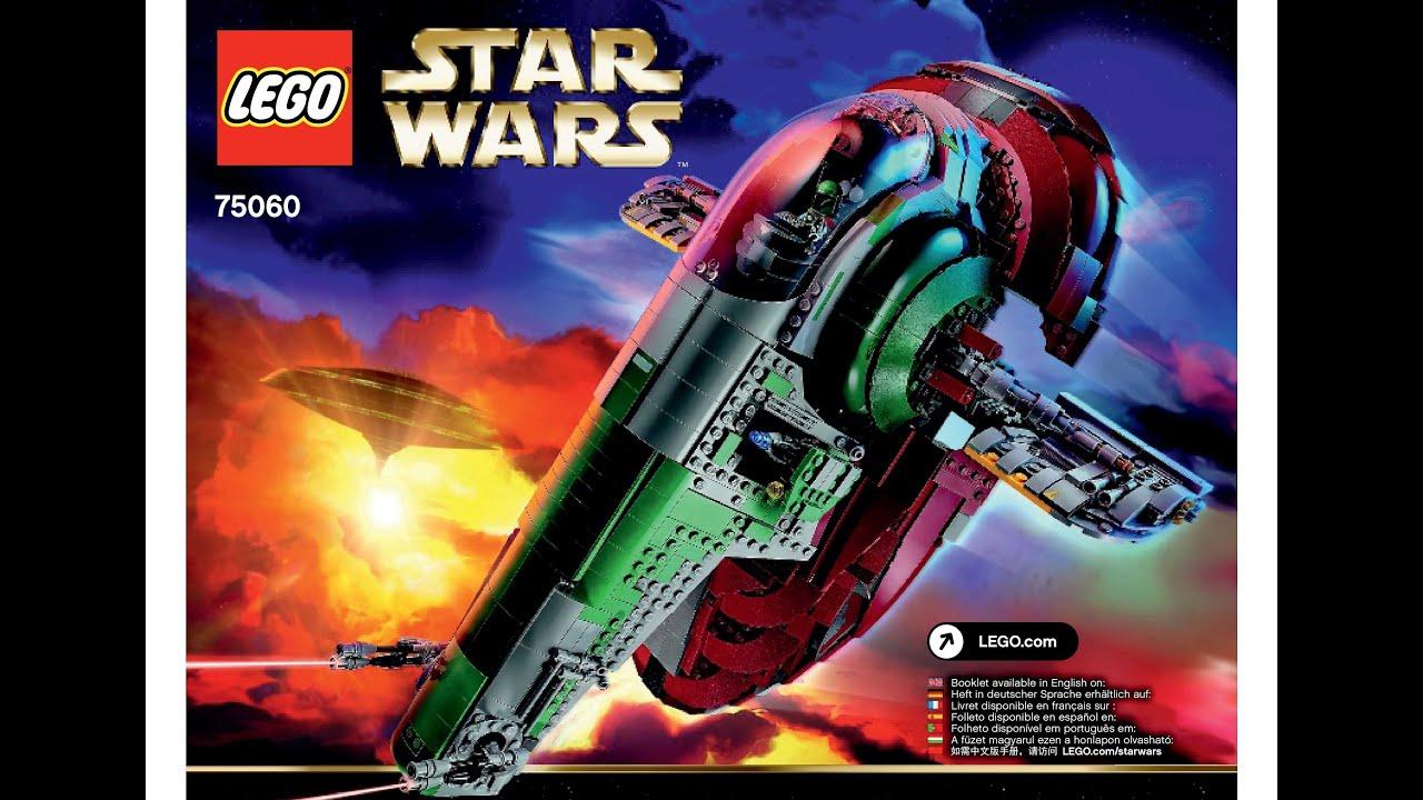Lego 75060 Slave I Instructions Lego Star Wars 2015 Ucs Ultimate