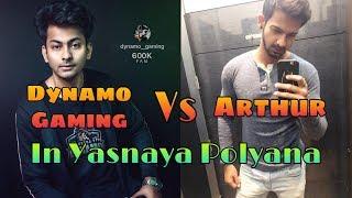 Dynamo Gaming Vs Arthur | Insane AWM Sniping In Yasnaya | \