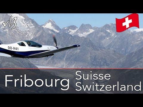 VL3: Fribourg et les Alpes