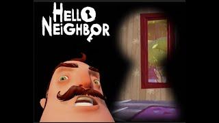 Hello Neighbor!! Mystery Game! Scary Basement! His Secret?
