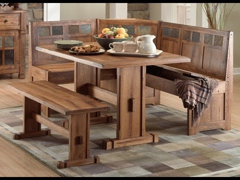 Awesome Booth Dining Table Idea