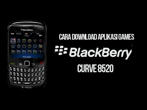 Cara Download Aplikasi games BlackBerry 8520 Curve - YouTube