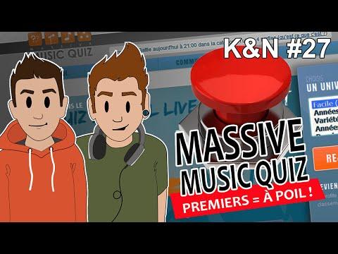 KEN ET NERD #27 - MASSIVE MUSIC QUIZ : PREMIERS = À POIL !