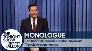 """The Roots Do """"Karma's a Bitch"""" Riverdale Transformation Memes"""