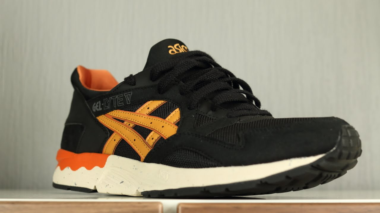 asics gel lyte v black tan review