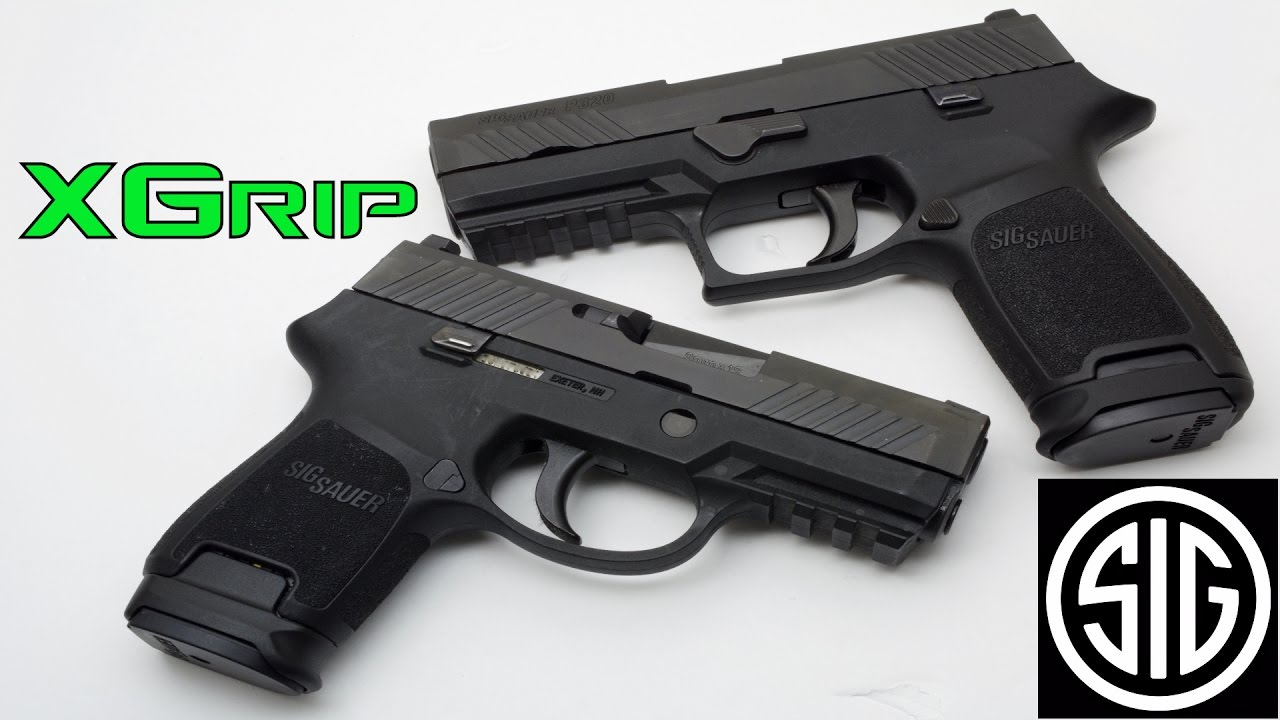 Sig P320 - Xgrip - Compact and SubCompact -