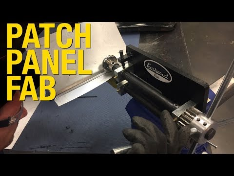 How To Fabricate a Patch Panel for a Car Door.  Model T Roadster Repair at Eastwood!