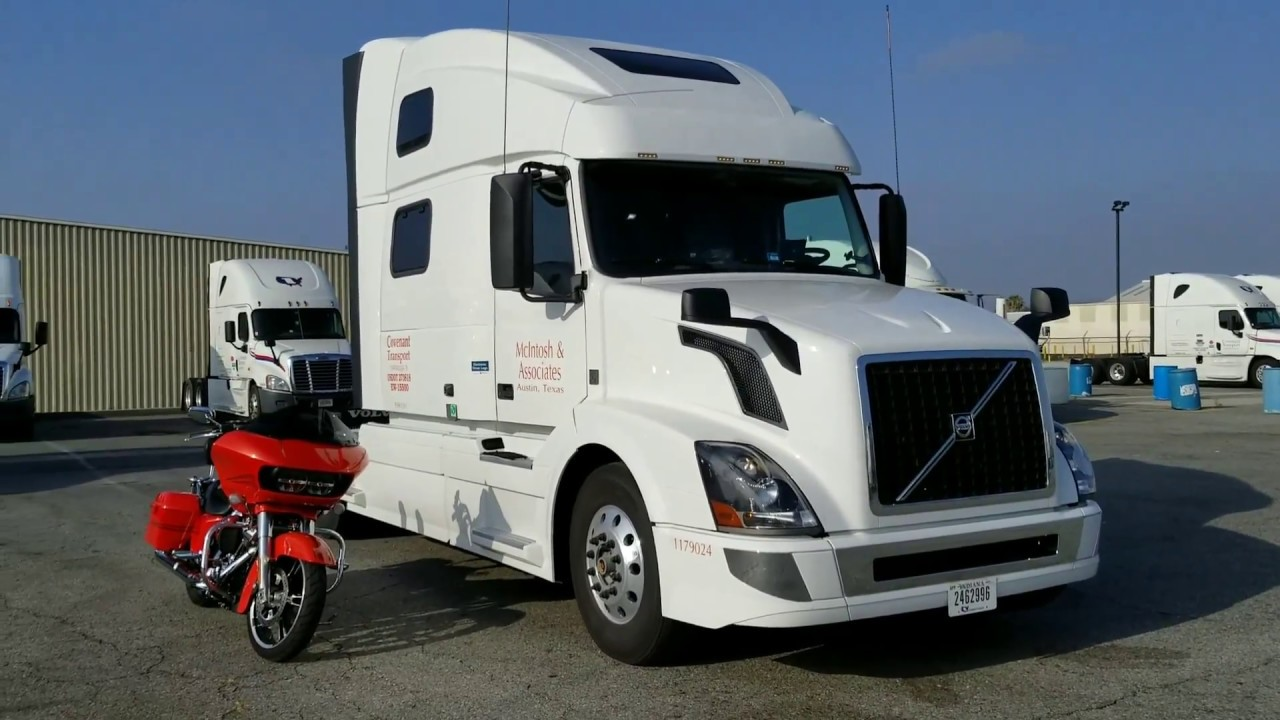 2018 Volvo VNL 780 D13 iShift Commercial Semi Truck Walk Through First Look - YouTube
