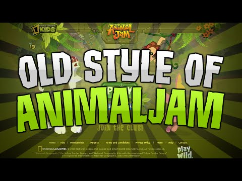 ANIMAL JAM OLD STYLE!