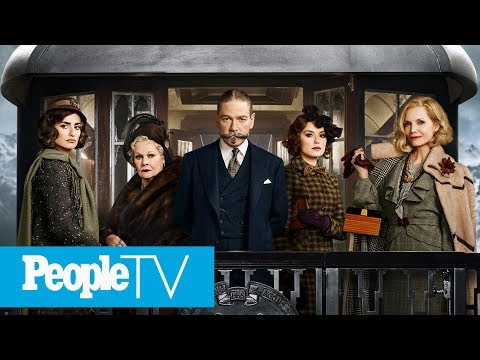 Murder On The Orient Express Cast On The Complex Sets | PeopleTV | Entertainment Weekly
