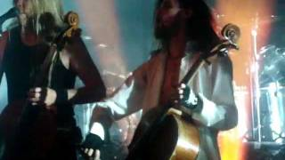 Apocalyptica - End Of Me (Ft. Tipe Johnson) - Live In Zagreb 2011