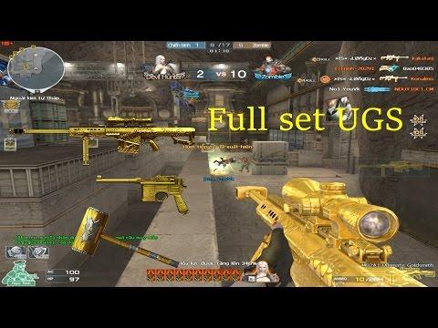 [ Bình Luận CF ] 3z-Ultimate Goldsmith - Tiền Zombie v4