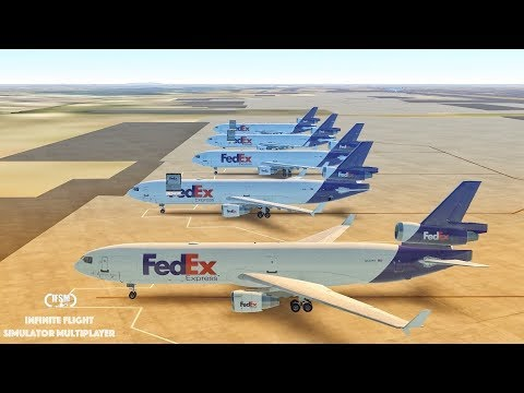 Infinite Flight Global | FedEx Express MD - 11F | John F. Kennedy - Heathrow Airport