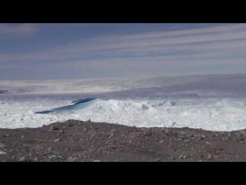 Jakobshavn Glacier Calving 2015 Aftermath