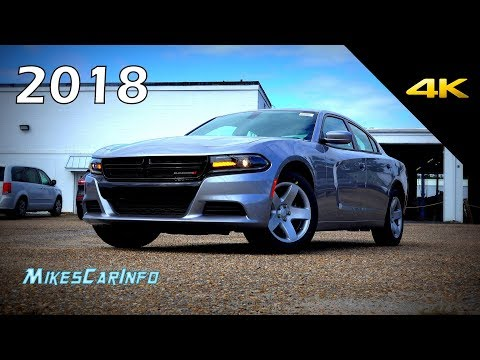 2018 Dodge Charger Pursuit - Detailed Look in 4K