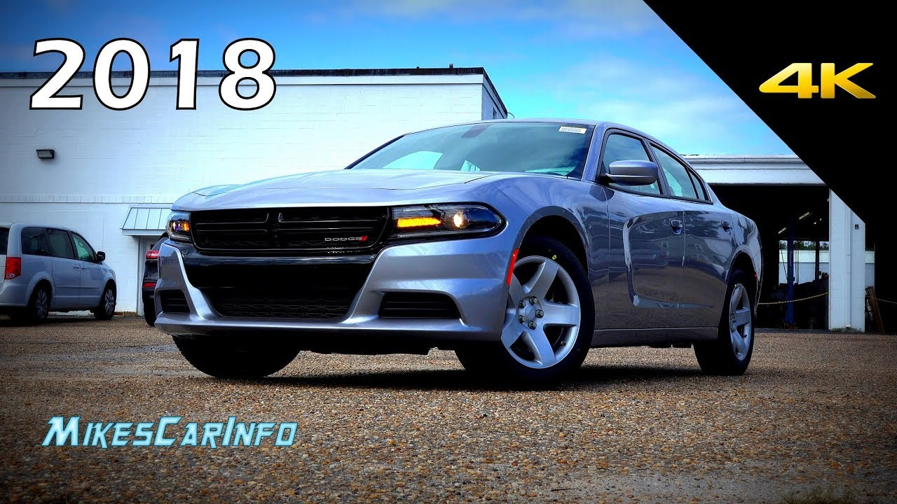 2018 Dodge Charger Pursuit Detailed Look In 4k Youtube
