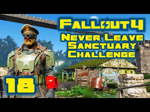 Let's Play Fallout 4: Never Leave Sanctuary Challenge [Seaso