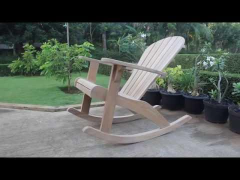 rocking motion on adirondack rocking chair - Adirondack Rocking Chair