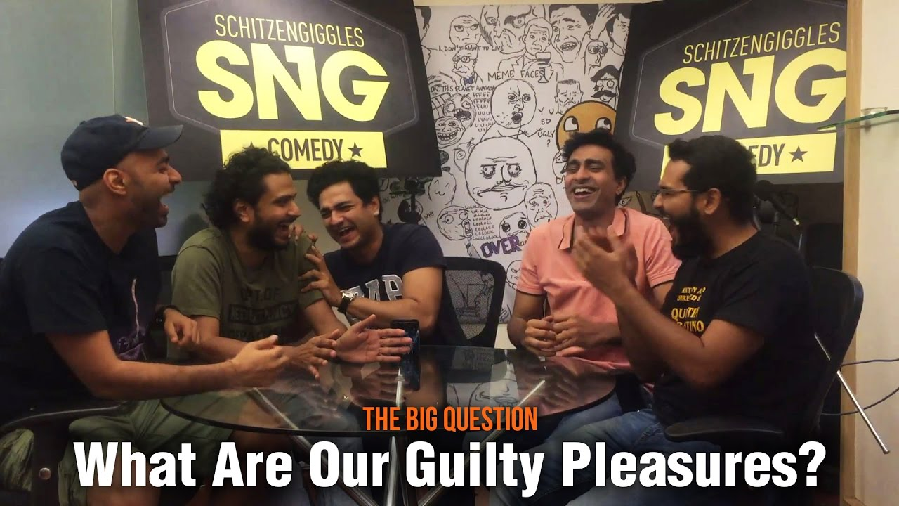 Download SnG: What are our guilty pleasures Feat. Kenny | The Big Question Ep 45 | Video Podcast
