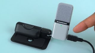 Samson Go Mic Compact USB Microphone Sound Test and Review - Plug n