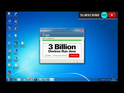 Download And Install Java JDK And JRE For Windows 7/8/10 (!2018)