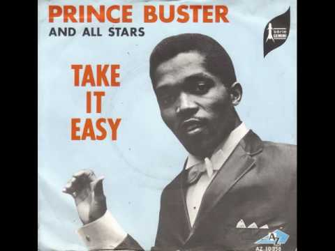 PRINCE BUSTER  TAKE IT EASY