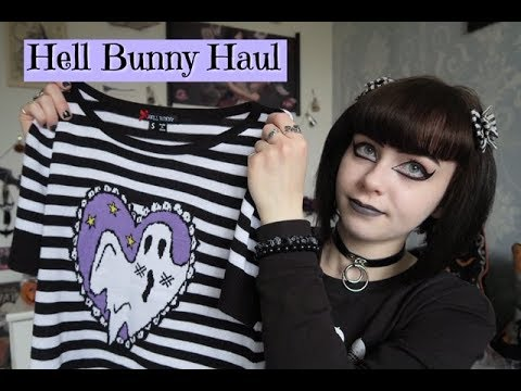 HELL BUNNY HAUL - Boo Top, Salem Dress And Peepers Dress