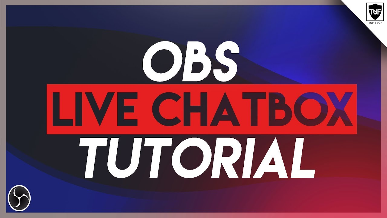 OBS: How to Setup Live Chat Overlay 2017 [StreamLabs]