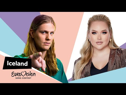 Eurovisioncalls Daði Freyr - Iceland 🇮🇸 with NikkieTutorials