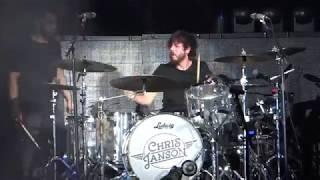 Chris Janson Drum Solo 2018