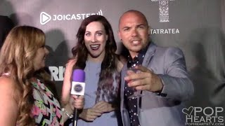 Laura Barrett and Joey Giamanco - VidCon Rise9 Launch Party - Pop Hearts TV